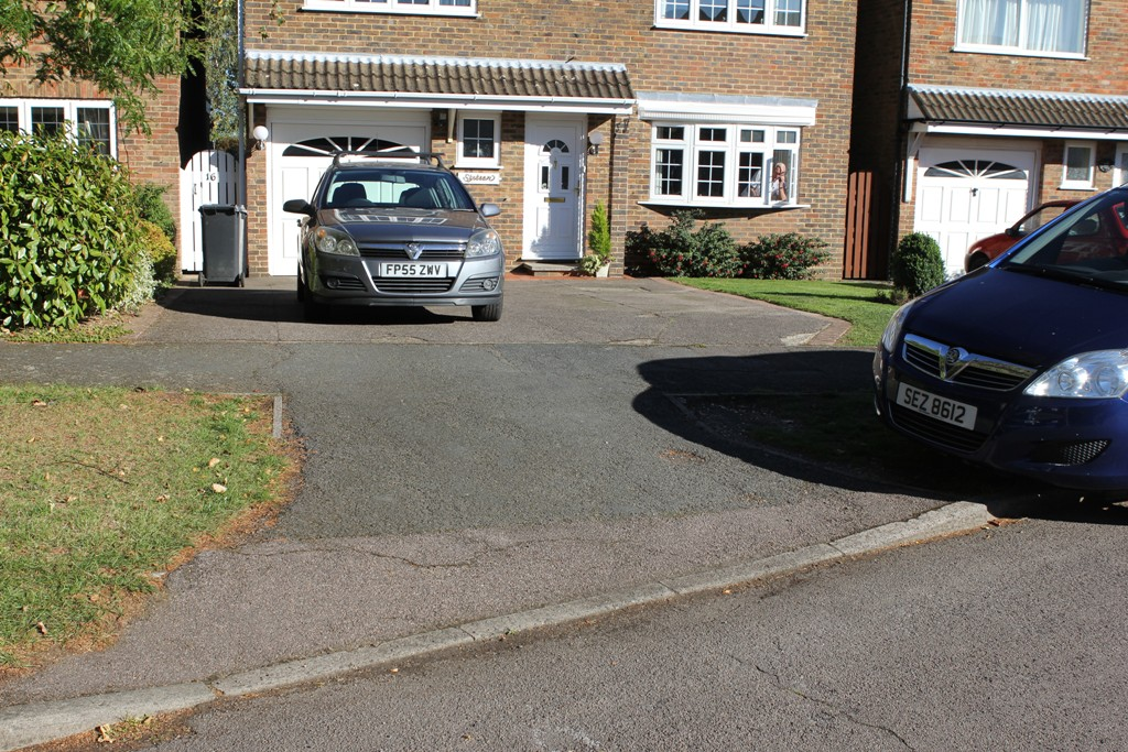 Dropped kerb in East Herts